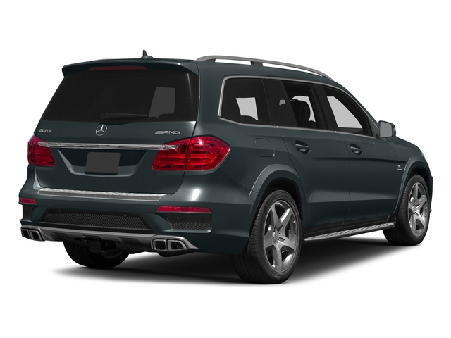 Steel Gray Metallic 2015 Mercedes-Benz GL-Class Pictures GL-Class Utility 4D GL63 AMG 4WD V8 photos rear view