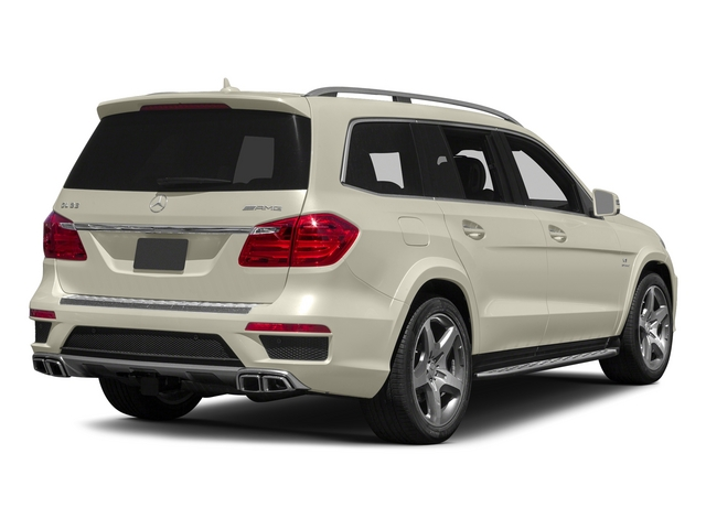 Diamond White Metallic 2015 Mercedes-Benz GL-Class Pictures GL-Class Utility 4D GL63 AMG 4WD V8 photos rear view