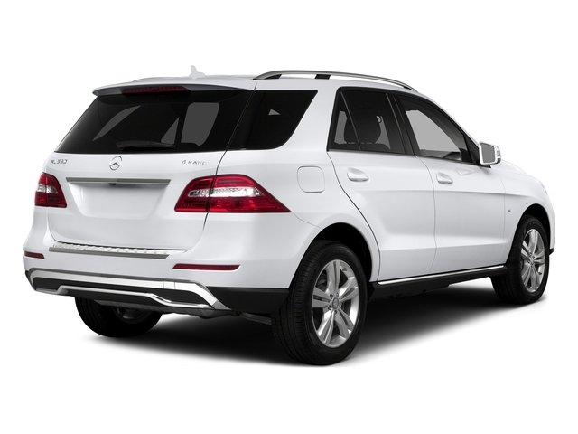 Polar White 2015 Mercedes-Benz M-Class Pictures M-Class Utility 4D ML350 2WD V6 photos rear view