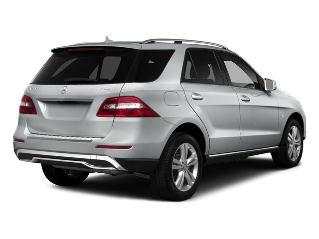 Iridium Silver Metallic 2015 Mercedes-Benz M-Class Pictures M-Class Utility 4D ML350 2WD V6 photos rear view