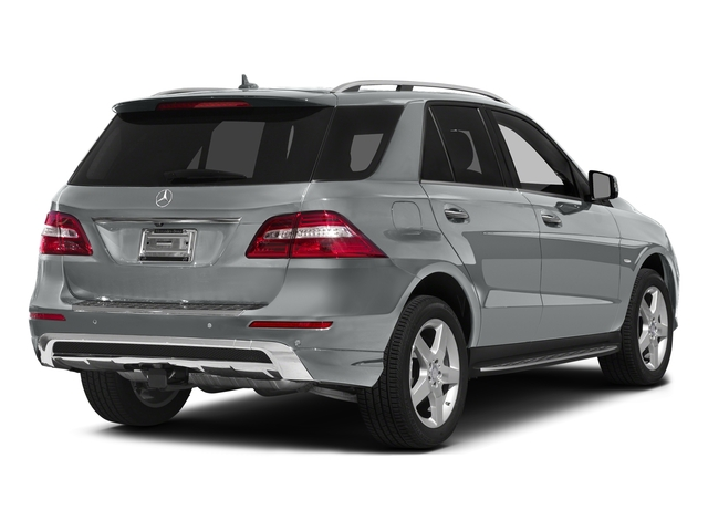 Iridium Silver Metallic 2015 Mercedes-Benz M-Class Pictures M-Class Utility 4D ML400 AWD V6 Turbo photos rear view