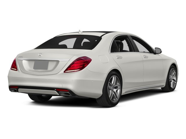 designo Magno Cashmere White (Matte Finish) 2015 Mercedes-Benz S-Class Pictures S-Class Sedan 4D S550 AWD V8 photos rear view