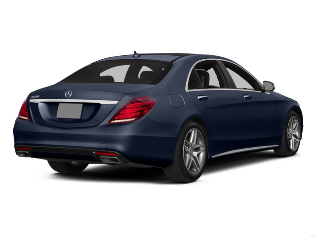 Lunar Blue Metallic 2015 Mercedes-Benz S-Class Pictures S-Class Sedan 4D S550 AWD V8 photos rear view