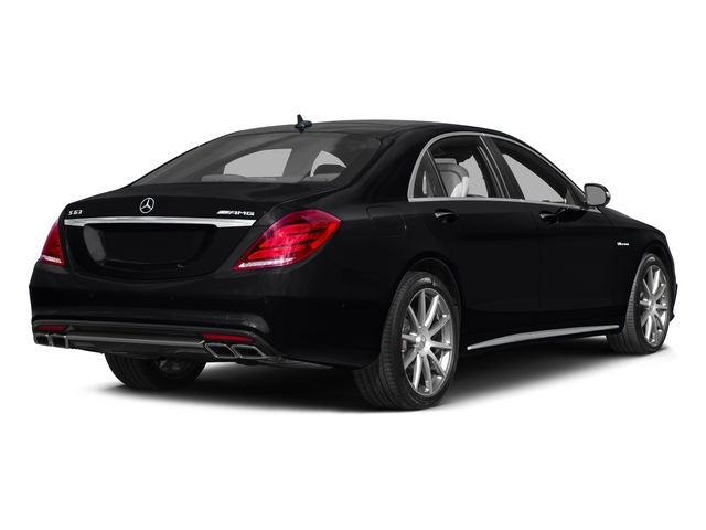 Black 2015 Mercedes-Benz S-Class Pictures S-Class Sedan 4D S63 AMG AWD V8 Turbo photos rear view
