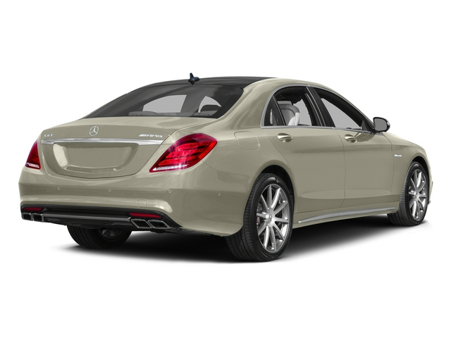 designo Diamond White 2015 Mercedes-Benz S-Class Pictures S-Class Sedan 4D S63 AMG AWD V8 Turbo photos rear view