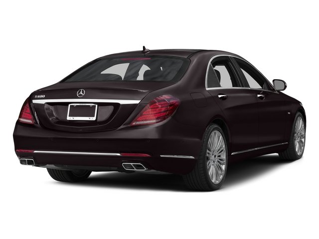 Ruby Black Metallic 2015 Mercedes-Benz S-Class Pictures S-Class Sedan 4D S600 V12 photos rear view