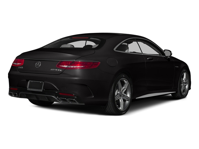designo Mocha Black 2015 Mercedes-Benz S-Class Pictures S-Class Coupe 2D S63 AMG AWD V8 Turbo photos rear view