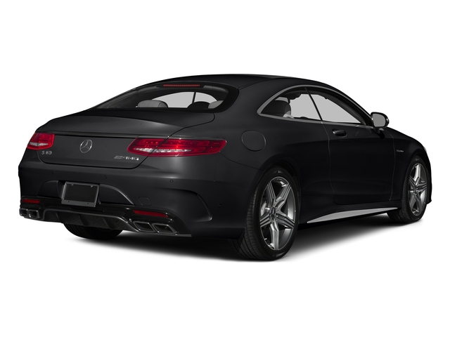 Black 2015 Mercedes-Benz S-Class Pictures S-Class Coupe 2D S63 AMG AWD V8 Turbo photos rear view