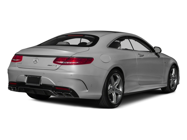 designo Magno Alanite Gray (Matte Finish) 2015 Mercedes-Benz S-Class Pictures S-Class Coupe 2D S63 AMG AWD V8 Turbo photos rear view