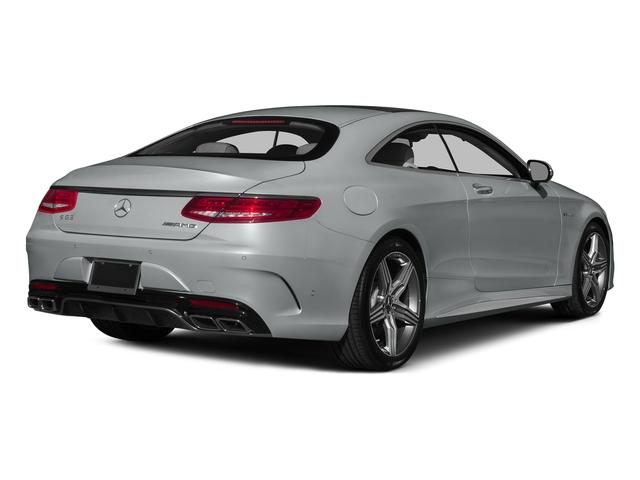 Iridium Silver Metallic 2015 Mercedes-Benz S-Class Pictures S-Class Coupe 2D S63 AMG AWD V8 Turbo photos rear view