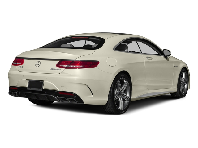 designo Diamond White 2015 Mercedes-Benz S-Class Pictures S-Class Coupe 2D S63 AMG AWD V8 Turbo photos rear view