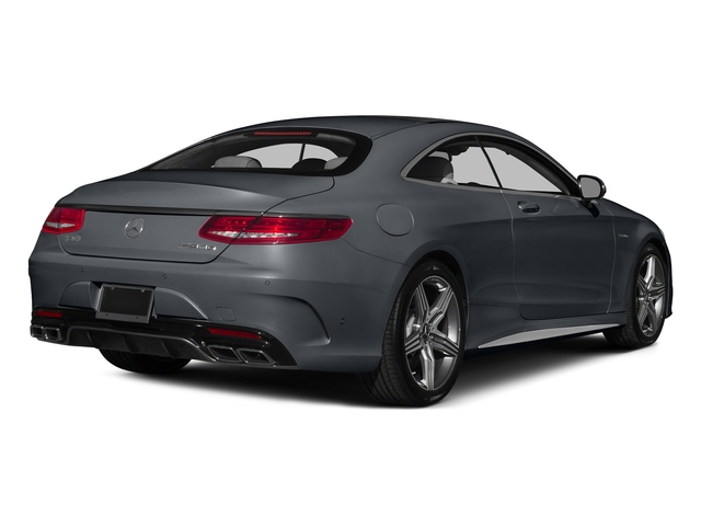 Anthracite Blue Metallic 2015 Mercedes-Benz S-Class Pictures S-Class Coupe 2D S63 AMG AWD V8 Turbo photos rear view