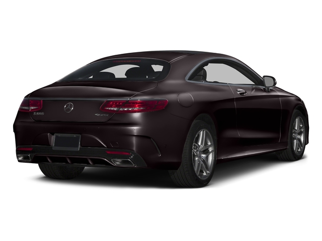Ruby Black Metallic 2015 Mercedes-Benz S-Class Pictures S-Class Coupe 2D S550 AWD V8 Turbo photos rear view
