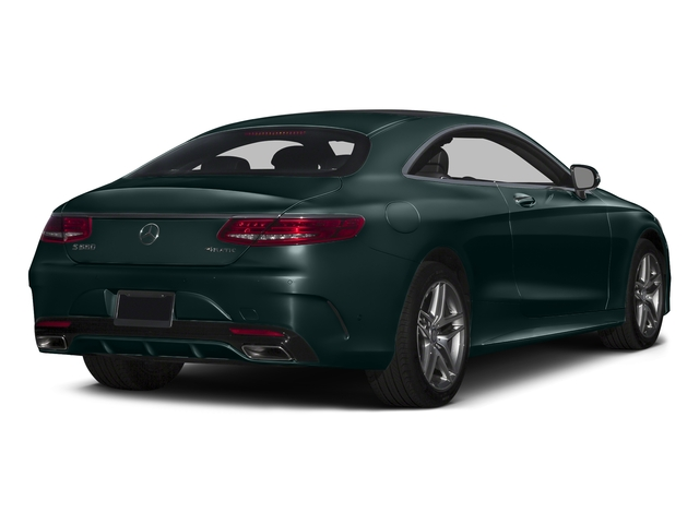 Emerald Green Metallic 2015 Mercedes-Benz S-Class Pictures S-Class Coupe 2D S550 AWD V8 Turbo photos rear view