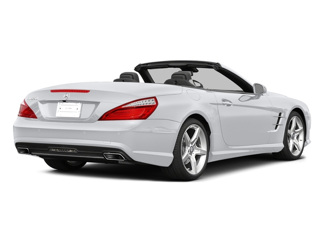 Polar White 2015 Mercedes-Benz SL-Class Pictures SL-Class Roadster 2D SL550 V8 Turbo photos rear view