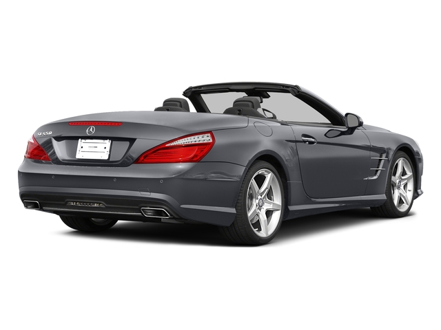 Shadow Gray Matte 2015 Mercedes-Benz SL-Class Pictures SL-Class Roadster 2D SL550 V8 Turbo photos rear view