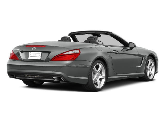 Palladium Silver Metallic 2015 Mercedes-Benz SL-Class Pictures SL-Class Roadster 2D SL550 V8 Turbo photos rear view