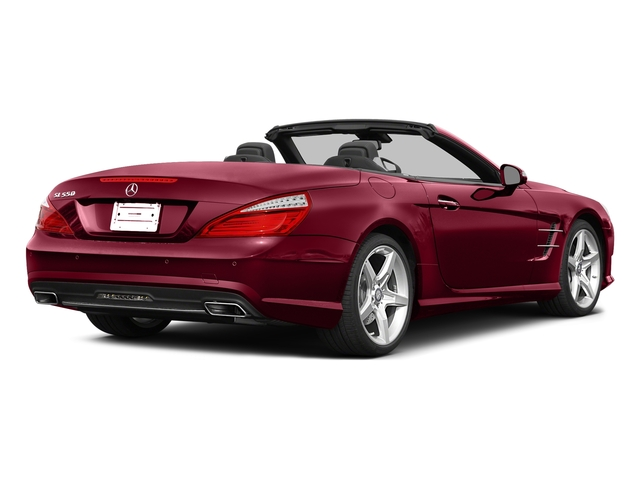 designo Cardinal Red Metallic 2015 Mercedes-Benz SL-Class Pictures SL-Class Roadster 2D SL550 V8 Turbo photos rear view