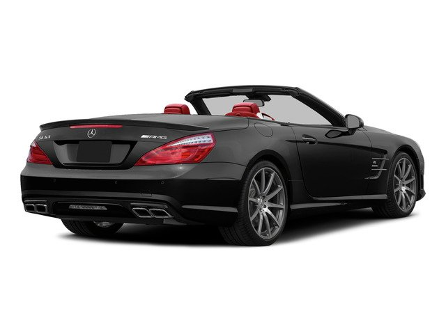 Black 2015 Mercedes-Benz SL-Class Pictures SL-Class Roadster 2D SL63 AMG V8 Turbo photos rear view