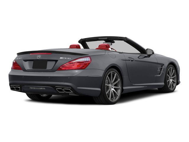 Shadow Gray Matte 2015 Mercedes-Benz SL-Class Pictures SL-Class Roadster 2D SL63 AMG V8 Turbo photos rear view