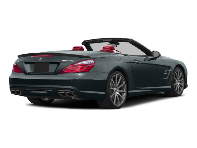 Steel Gray Metallic 2015 Mercedes-Benz SL-Class Pictures SL-Class Roadster 2D SL63 AMG V8 Turbo photos rear view