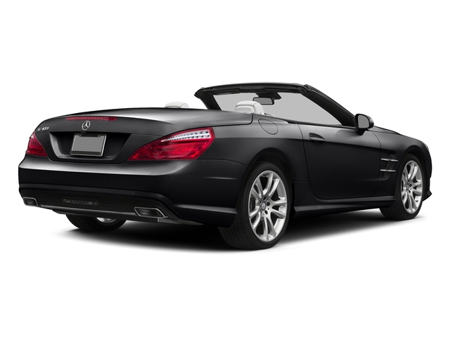 Black 2015 Mercedes-Benz SL-Class Pictures SL-Class Roadster 2D SL400 V6 Turbo photos rear view