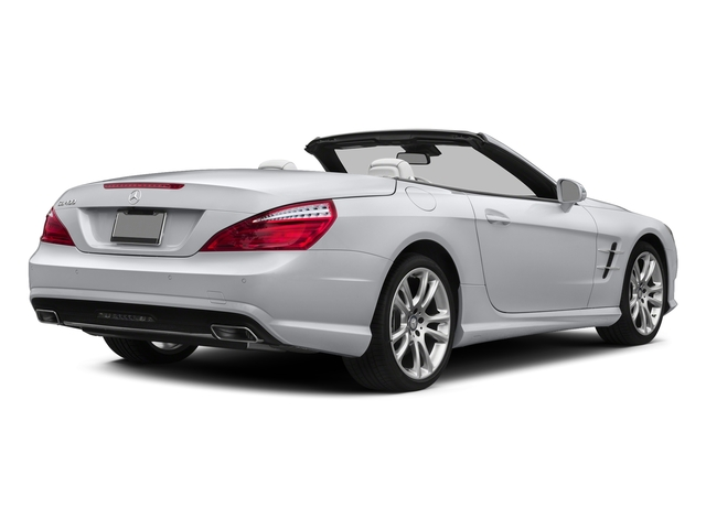 Polar White 2015 Mercedes-Benz SL-Class Pictures SL-Class Roadster 2D SL400 V6 Turbo photos rear view