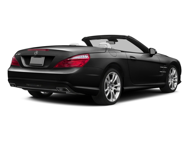 Obsidian Black Metallic 2015 Mercedes-Benz SL-Class Pictures SL-Class Roadster 2D SL400 V6 Turbo photos rear view