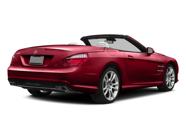 Mars Red 2015 Mercedes-Benz SL-Class Pictures SL-Class Roadster 2D SL400 V6 Turbo photos rear view