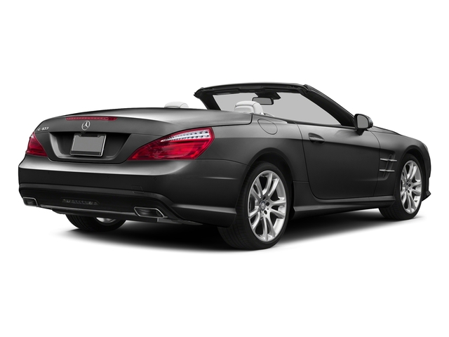 Steel Gray Metallic 2015 Mercedes-Benz SL-Class Pictures SL-Class Roadster 2D SL400 V6 Turbo photos rear view