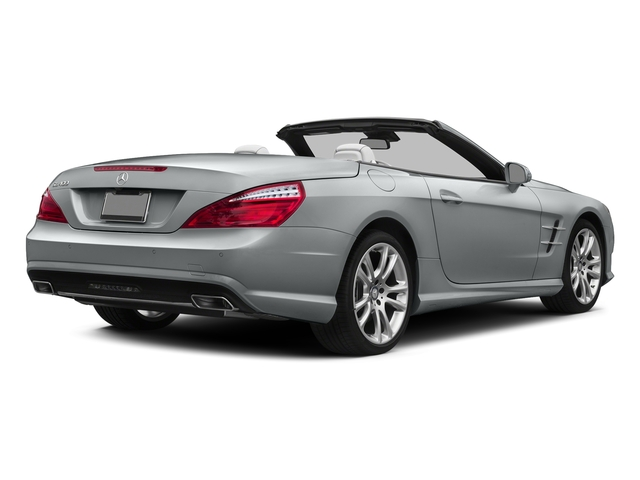 Iridium Silver Metallic 2015 Mercedes-Benz SL-Class Pictures SL-Class Roadster 2D SL400 V6 Turbo photos rear view