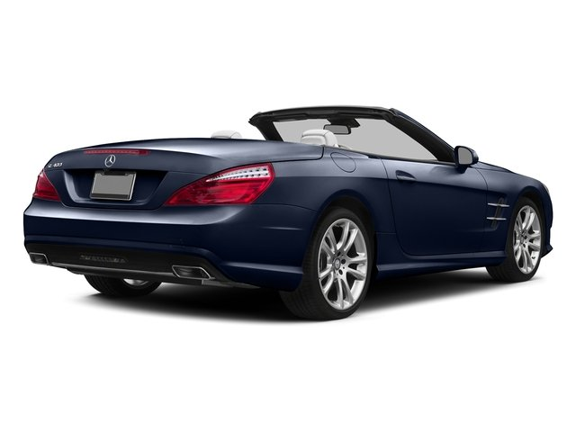 Lunar Blue Metallic 2015 Mercedes-Benz SL-Class Pictures SL-Class Roadster 2D SL400 V6 Turbo photos rear view