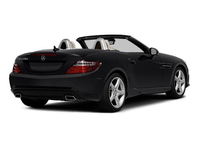 Black 2015 Mercedes-Benz SLK-Class Pictures SLK-Class Roadster 2D SLK250 I4 Turbo photos rear view