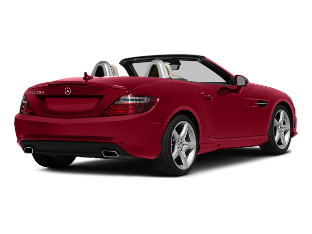 Mars Red 2015 Mercedes-Benz SLK-Class Pictures SLK-Class Roadster 2D SLK250 I4 Turbo photos rear view
