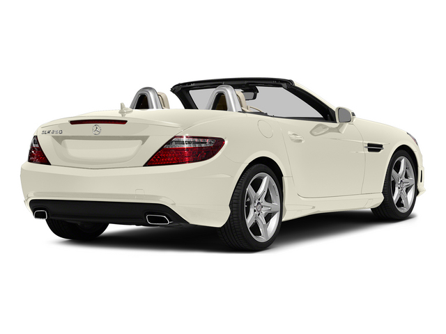 Diamond White Metallic 2015 Mercedes-Benz SLK-Class Pictures SLK-Class Roadster 2D SLK250 I4 Turbo photos rear view