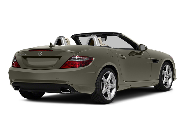 Indium Gray Metallic 2015 Mercedes-Benz SLK-Class Pictures SLK-Class Roadster 2D SLK250 I4 Turbo photos rear view