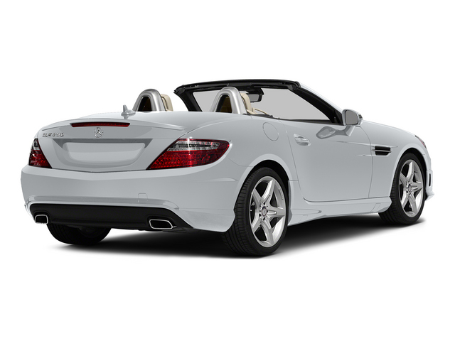 Diamond Silver Metallic 2015 Mercedes-Benz SLK-Class Pictures SLK-Class Roadster 2D SLK250 I4 Turbo photos rear view