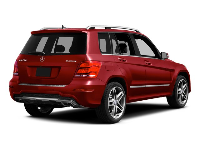Mars Red 2015 Mercedes-Benz GLK-Class Pictures GLK-Class Utility 4D GLK250 BlueTEC AWD I4 photos rear view