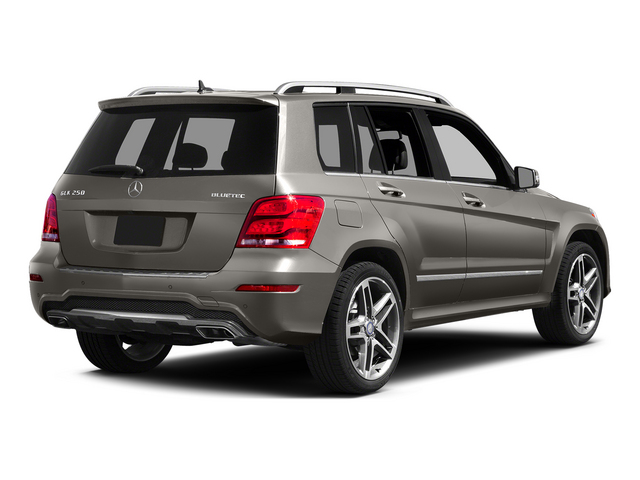 Pebble Gray 2015 Mercedes-Benz GLK-Class Pictures GLK-Class Utility 4D GLK250 BlueTEC AWD I4 photos rear view