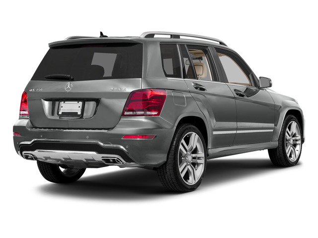 Palladium Silver Metallic 2015 Mercedes-Benz GLK-Class Pictures GLK-Class Utility 4D GLK350 AWD V6 photos rear view