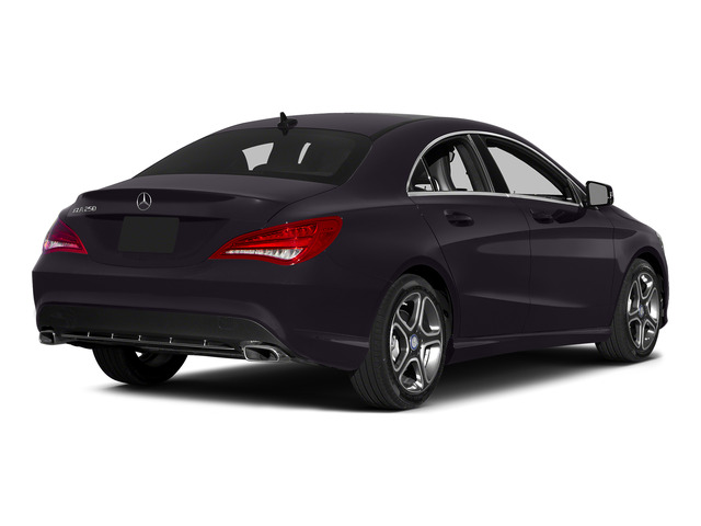 Northern Lights Violet Metallic 2015 Mercedes-Benz CLA-Class Pictures CLA-Class Sedan 4D CLA250 AWD I4 Turbo photos rear view