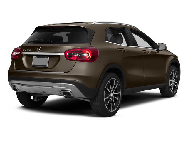 Cocoa Brown Metallic 2015 Mercedes-Benz GLA-Class Pictures GLA-Class Utility 4D GLA250 AWD I4 Turbo photos rear view