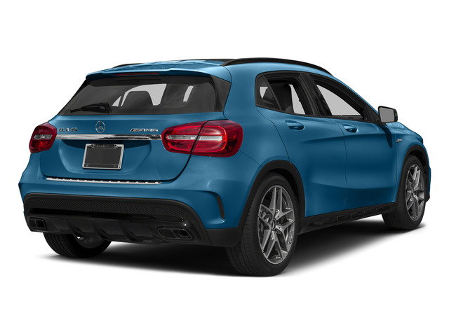 South Seas Blue Metallic 2015 Mercedes-Benz GLA-Class Pictures GLA-Class Utility 4D GLA45 AMG AWD I4 Turbo photos rear view