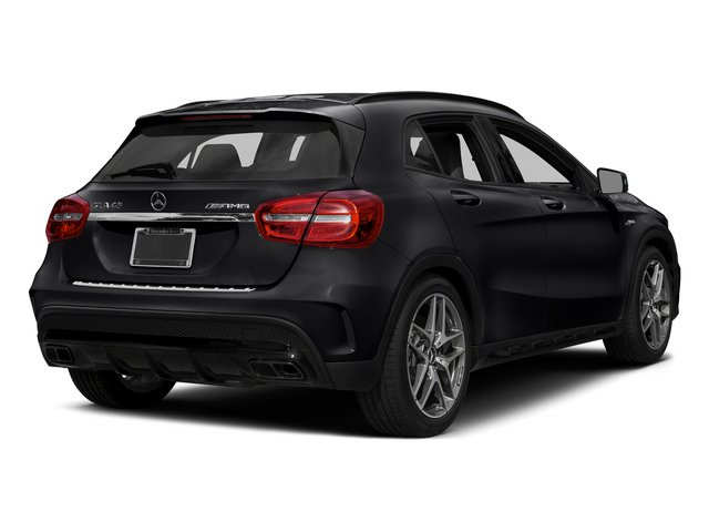 Cosmos Black Metallic 2015 Mercedes-Benz GLA-Class Pictures GLA-Class Utility 4D GLA45 AMG AWD I4 Turbo photos rear view
