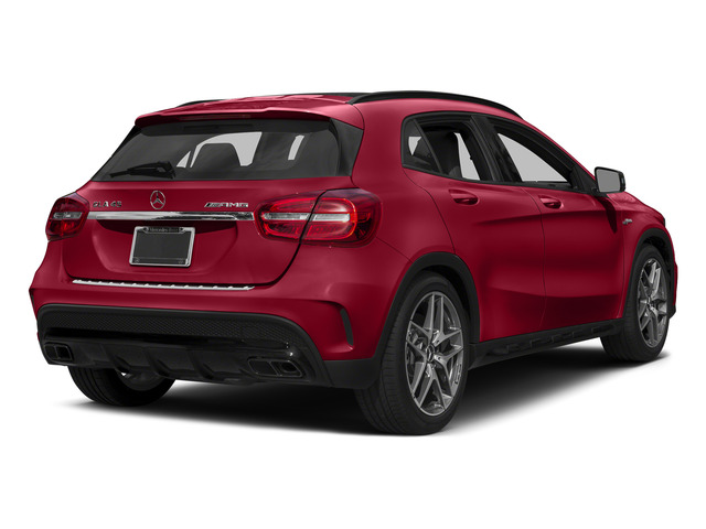 Jupiter Red 2015 Mercedes-Benz GLA-Class Pictures GLA-Class Utility 4D GLA45 AMG AWD I4 Turbo photos rear view