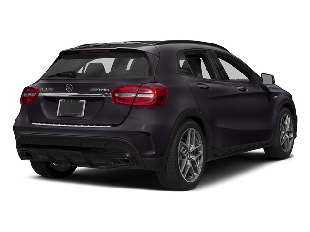 Northern Lights Violet Metallic 2015 Mercedes-Benz GLA-Class Pictures GLA-Class Utility 4D GLA45 AMG AWD I4 Turbo photos rear view