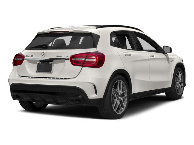 Cirrus White 2015 Mercedes-Benz GLA-Class Pictures GLA-Class Utility 4D GLA45 AMG AWD I4 Turbo photos rear view