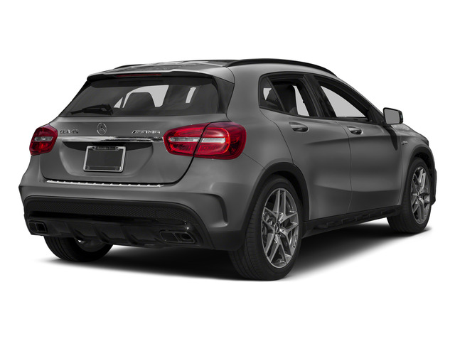 designo Mountain Gray Magno 2015 Mercedes-Benz GLA-Class Pictures GLA-Class Utility 4D GLA45 AMG AWD I4 Turbo photos rear view