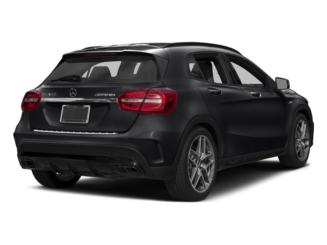 Night Black 2015 Mercedes-Benz GLA-Class Pictures GLA-Class Utility 4D GLA45 AMG AWD I4 Turbo photos rear view