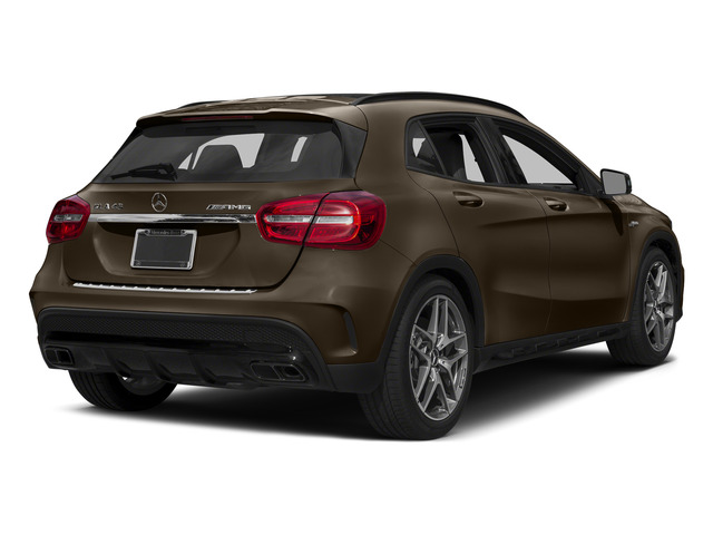 Cocoa Brown Metallic 2015 Mercedes-Benz GLA-Class Pictures GLA-Class Utility 4D GLA45 AMG AWD I4 Turbo photos rear view